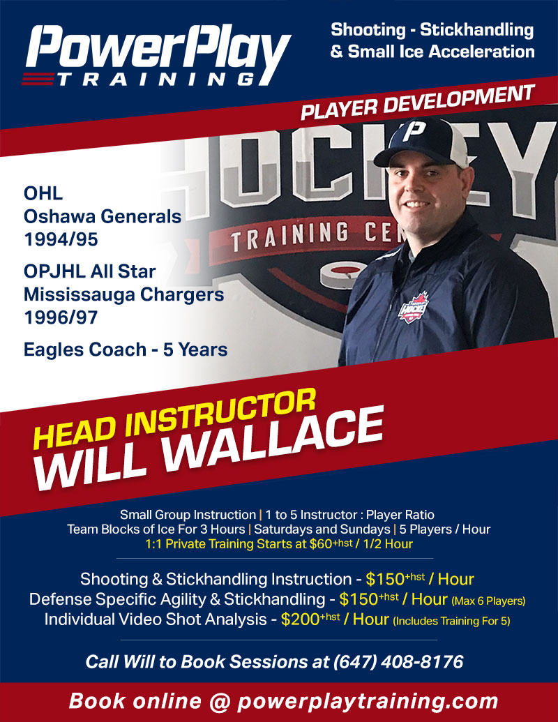 Will Wallace Hockey Training Flyer